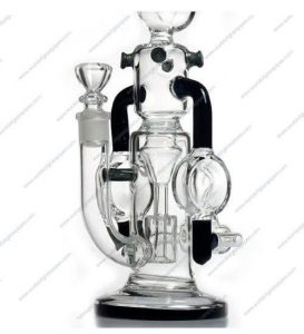 Coiled Pingu 28cm 14 4mm Black Perc Recycler Bong Ismokealot Instant sound effect button of swiggity swooty. coiled pingu 28cm 14 4mm black perc recycler bong