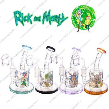 Rick and Morty dab rig