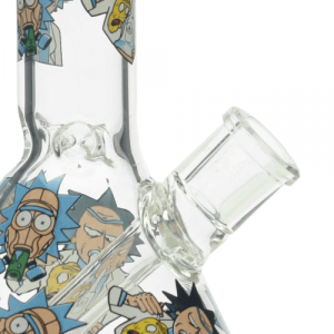 Rick and Morty Bong Collection 1 | Option A | 8 Inches Ice