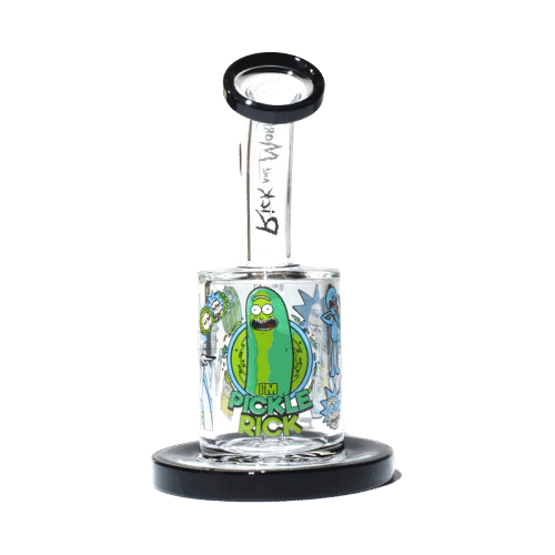 Rick & Morty Collection 3 Black 6 inches side
