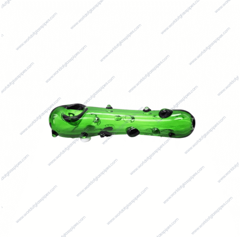 I don't do magic | 4.6 inches | Pickle Rick Glass Pipe side