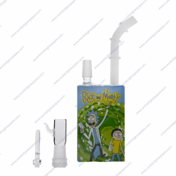 Rick & Morty Collection 13 | All Options | Mini Dab Rig Rick Top Rick Front