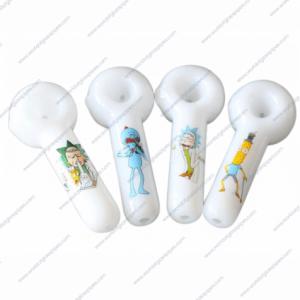 Rick & Morty Glass Pipes | Random Designs