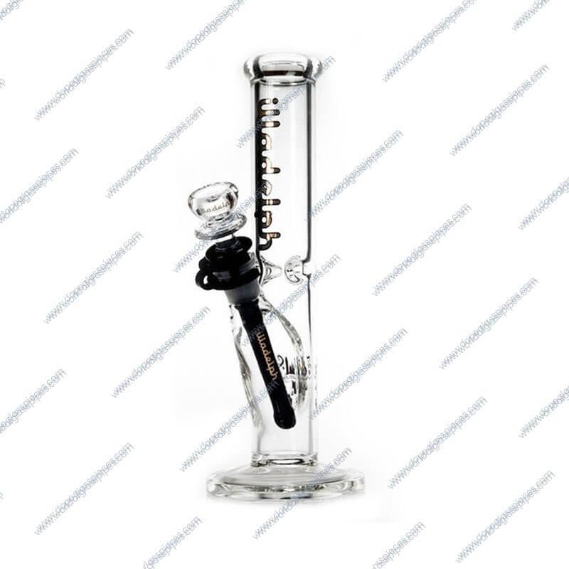 10 Inch Black Colored Illadelph Glass Piece