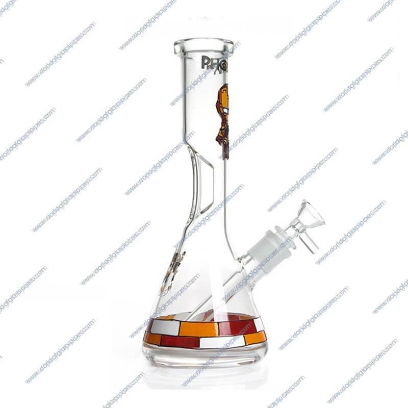 10 Inch Iron Man Themed Glass Piece 2