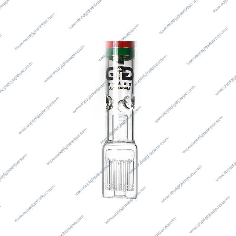 18 Inch Rasta Colored Beaker Glass Piece4