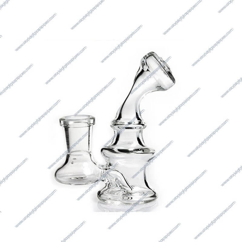 4 Inch Mini Glass Water Piece