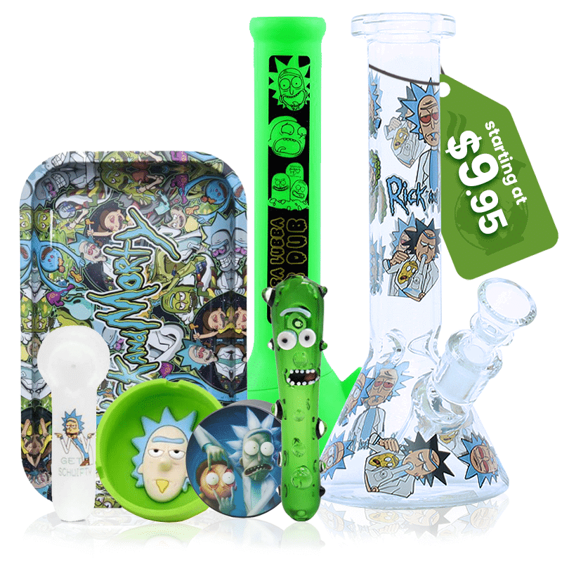 Rick and morty stoner gear