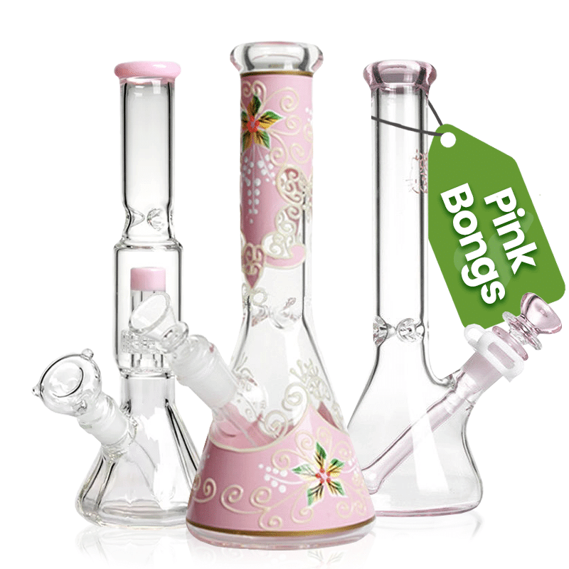 Cute girly Pink bongs for sale
