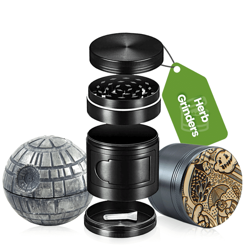 best herb grinders from any online headshop!