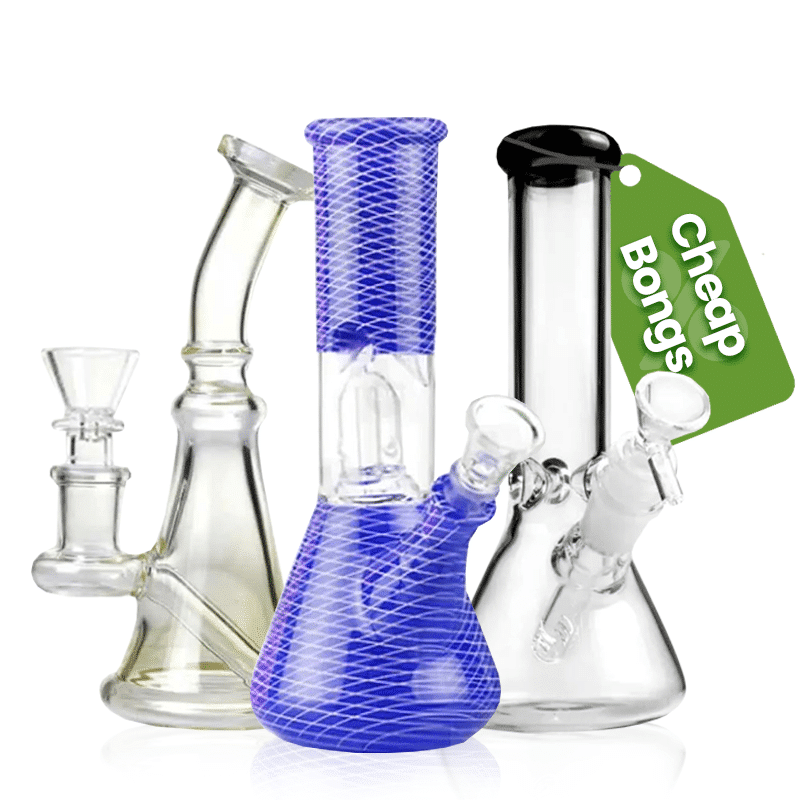 If $75 is all you've got to blow on your next bong, no worries. Some of our biggest and best brands and bongs are under $75!  Our bongs under $75 are no less premium than our bongs below $100, they are just usually slightly less complex!