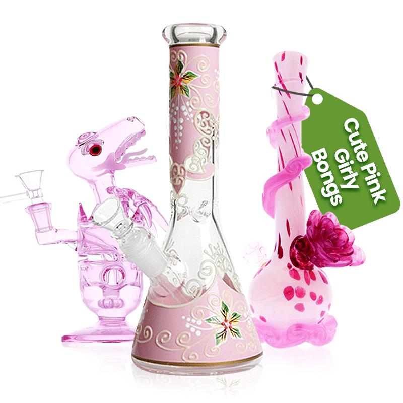 Buy Cute Pink Girly Bongs For Sale Online